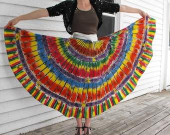 Ethnic skirt,midi skirt,adjustable asymmetric skirt,multi-screen even skirt,skirt African dashikiwrap boho skirt,wax fabric skirt