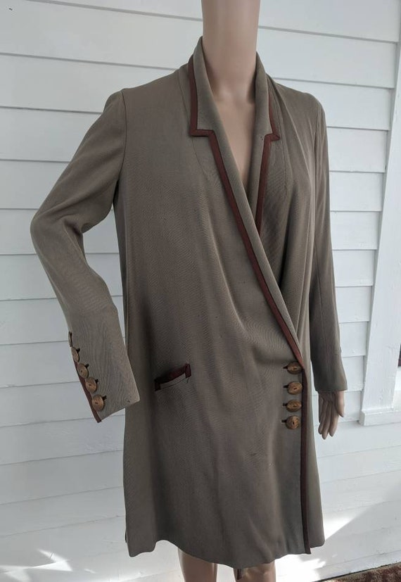 Edwardian Coat 1910 Vintage Antique Walking Suit J