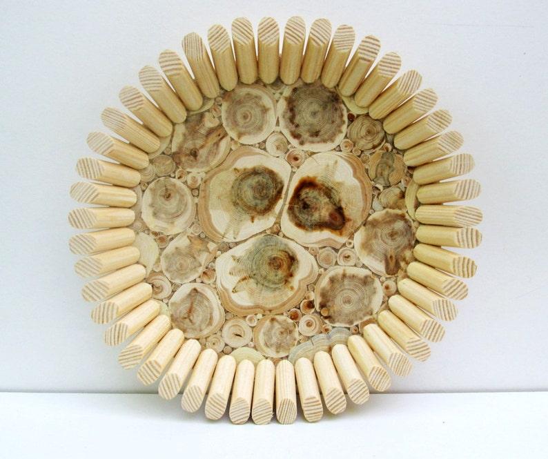 Untreated Wood Wooden Dish Wooden Kitchen Utensil Natural Handmade Bowl Juniper Wood Platter Rustic Home Decor