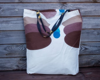 LinenTote Bag Grocery Reusable Bag Eco-friendly Natural Beach Tote Bag