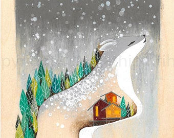 Winter is Here - art print