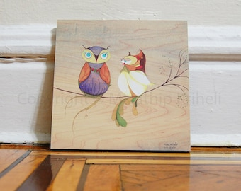 Do You Think Spring Is Here - 8x8 mounted art print