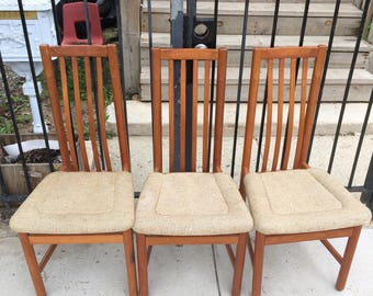 Beautiful Teak Chairs By Benny Linden