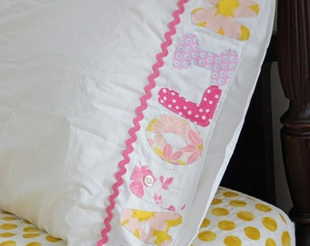Personalized Childs Pillowcase