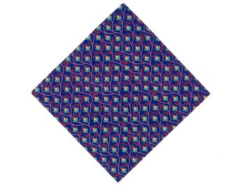 Pomp & Ceremony Pocket Square handkerchief Liberty of London Venus Vines