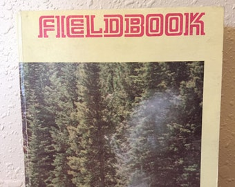1977 Scout Fieldbook - Boy Scouts of America - 2nd edition - B&W photos - mixed media, scrapbooking, junk journal