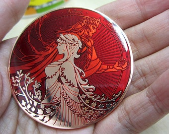 Hades and Persephone coin 2nd minting - DARK FALL