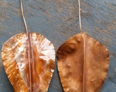 Fold form copper leaves f...