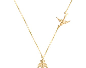 The Bird & The Bee Necklace