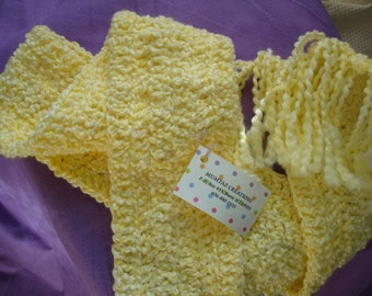 Warm and Comfy, Thick Winter Scarf - Lemonade 43A