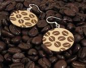 Coffee Fanatic - Maple & Walnut Laser Inlay