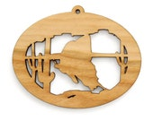 Giant Swallowtail Ornament - Wild West Collection-Made in the USA with sustainably harvested wood! - Timber Green Woods.