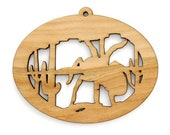 Tarantula Spider Ornament - Wild West Collection-Made in the USA with sustainably harvested wood! - Timber Green Woods.