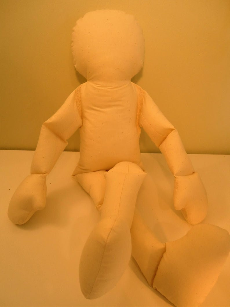 NDT Physical THERAPY Cloth Doll Body Toddler Jointed flexible image 0