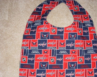 4212b1c18 Washington Capitals Adult Size Bib   Clothing Protector - Reversible