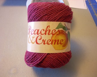 Peaches And Creme Cotton Yarn Etsy