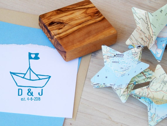 Earth-Friendly Olive Wood Stamp