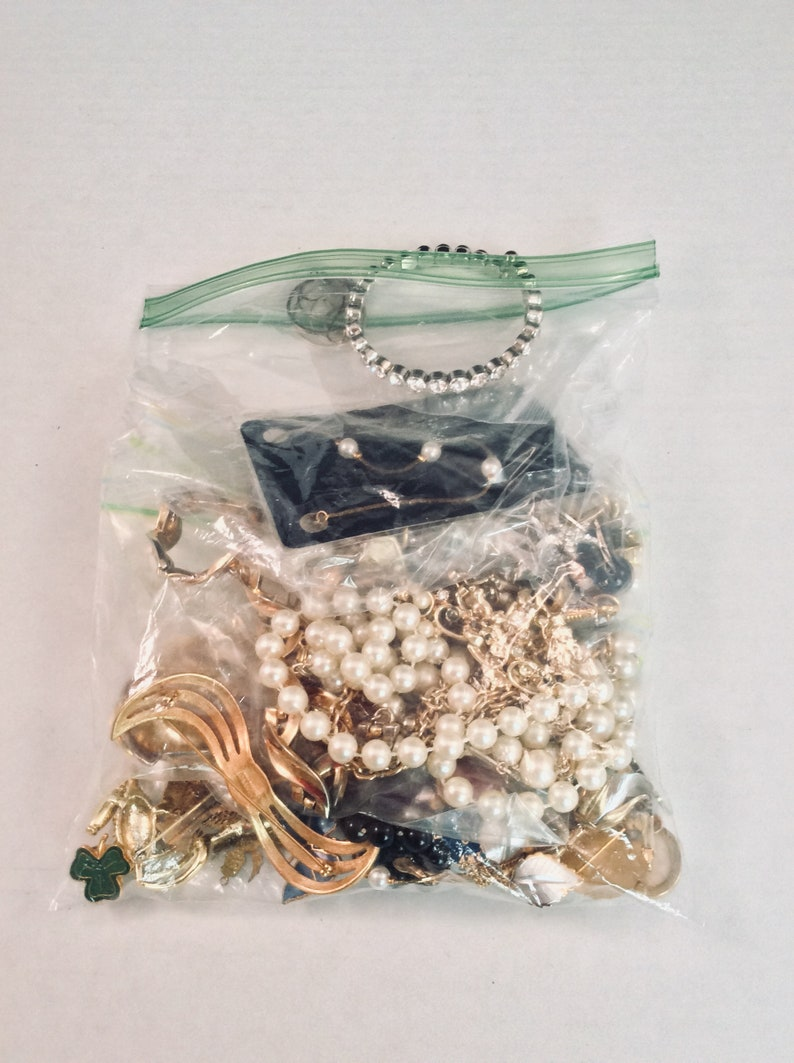 Vintage Jewelry Destash Lot of Vintage Jewelry and Findings