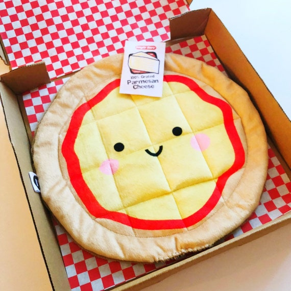 Plush Cheese Pizza - READY TO SHIP