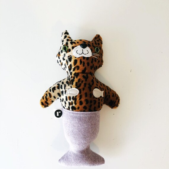 Stuffed Leopard Furrmaid - READY TO SHIP