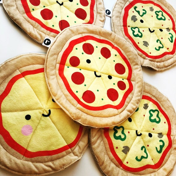 Plush Pepperoni Pizza - READY TO SHIP