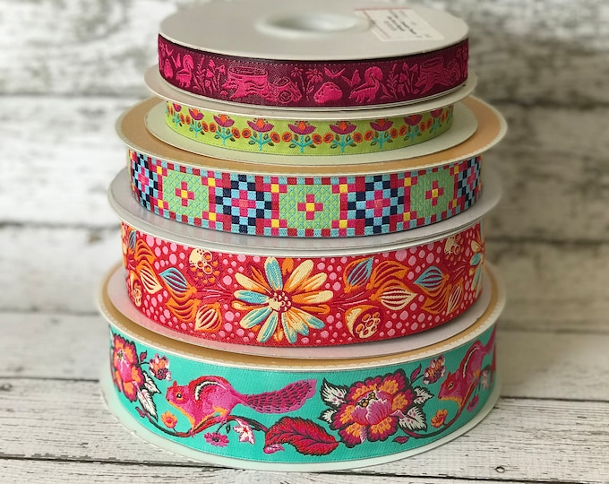 Designer Ribbon Trim Pack - Squirrels