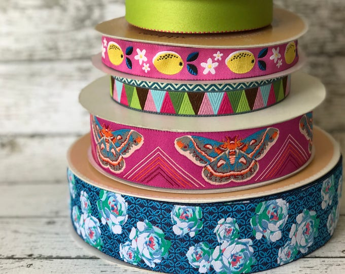 Designer Ribbon Trim Pack - Butterflies