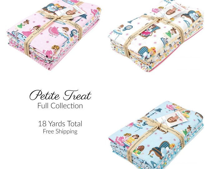 Petite Treat Fabric by Lindsay Wilkes for Riley Blake Designs - FULL COLLECTION - 18 yards
