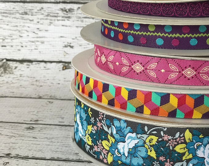Designer Ribbon Trim Pack - Geometric