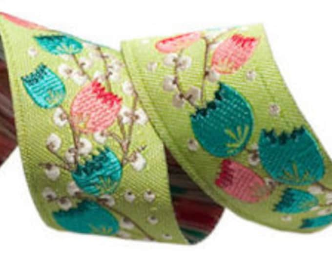 Woven Jacquard Trim by Anna Maria Horner, 1 Yard by The Cottage Mama