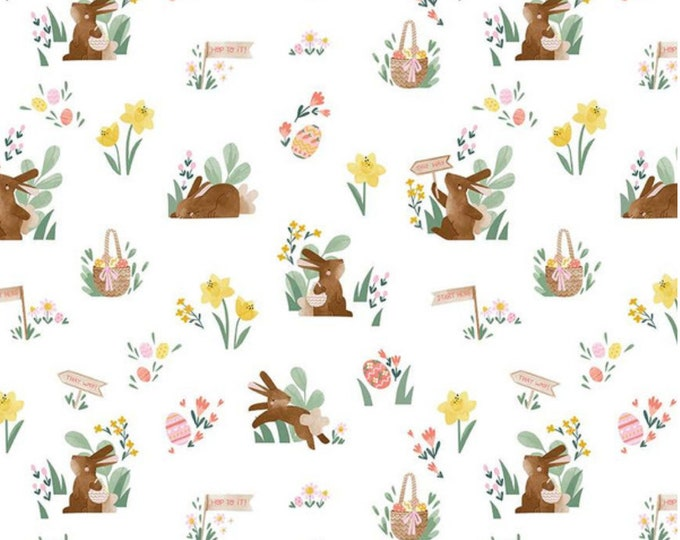Easter Egg Hunt Fabric from Riley Blake Designs