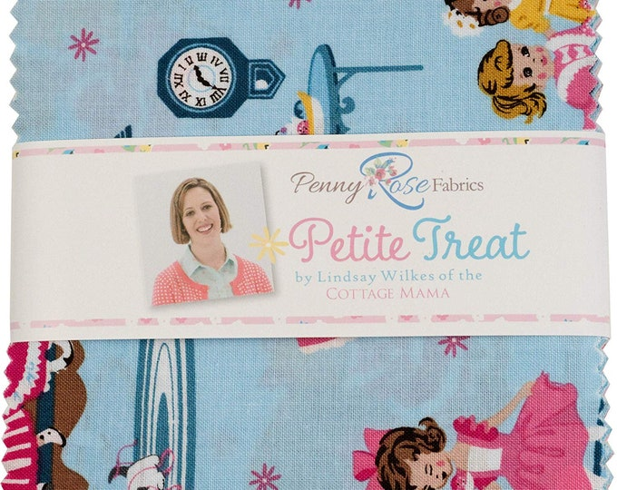 "5"" Stacker - Petite Treat Fabric by Lindsay Wilkes for Riley Blake Designs and Penny Rose Fabrics"