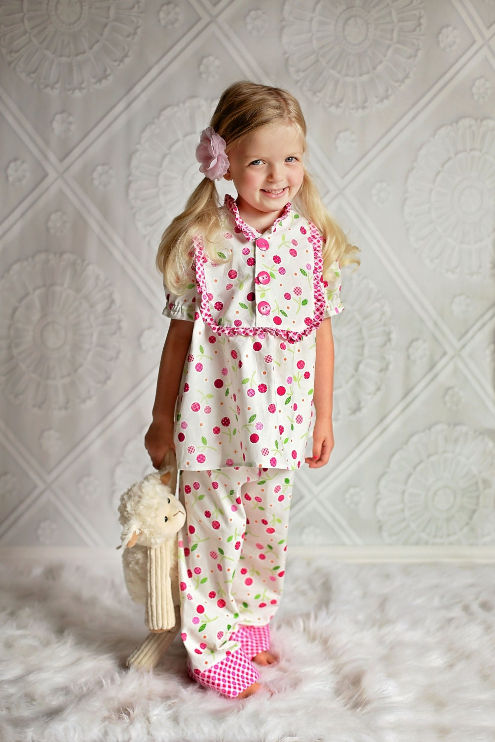 Groovy Pdf Sewing Pattern Claire Girls Pajamas Nightgown Top Download Free Architecture Designs Scobabritishbridgeorg