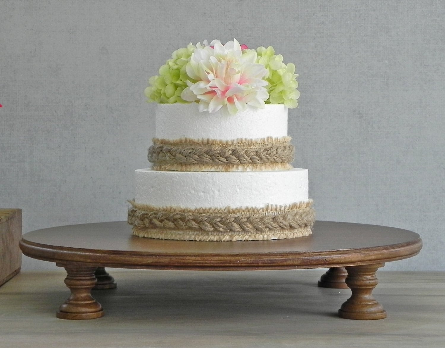 16 inch wedding cake stand 16 wedding cake stand cupcake stand rustic cake stand 1028
