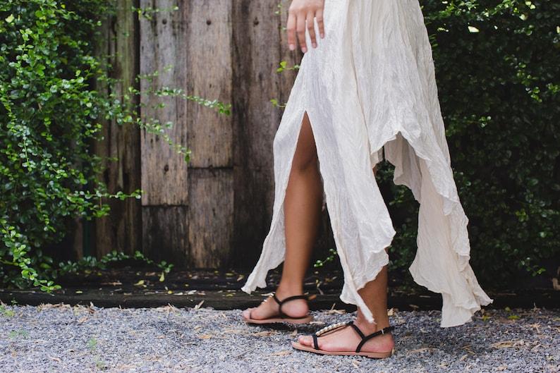 Off-White Maxi Dress W04