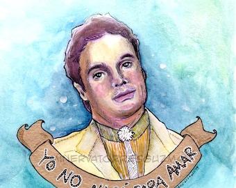 """Juan Gabriel - """"Yo No Naci Para Amar"""" Art Print"""