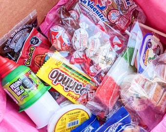 Mexican Candy Snack + Candy Box Care Package