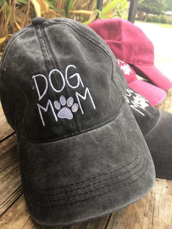 e46ee0718a0b9 Dog mom baseball cap