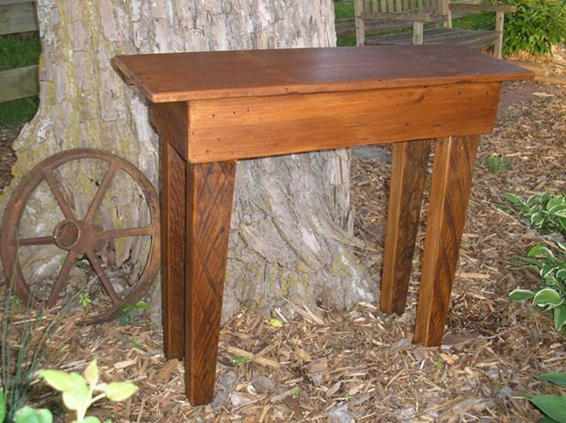 Fremont Sofa Table TC76-3 Reclaimed wood