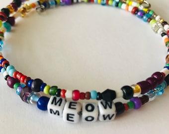 MEOW:  A Birdsong Art Bracelet! MEOW001