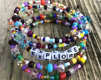 EXPLORE:  A Birdsong Art Bracelet.  EXP001