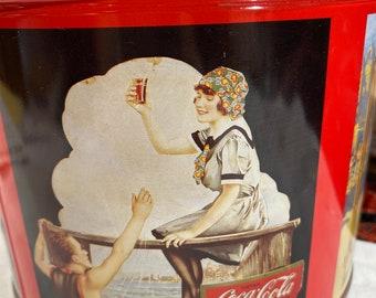 1990 Coca-Cola Tin.