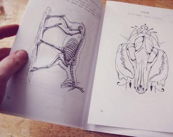 Scavenger Zine // Vulture Culture, Bone collecting, DIGITAL FILE