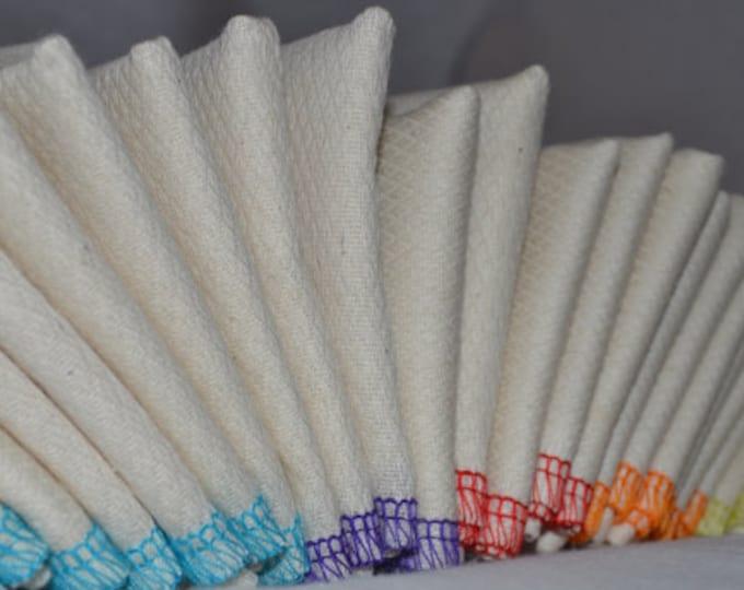Try It Set of 5 PaperLess Towels -- Organic Birdseye Fabric