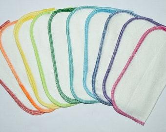 Organic Cotton Fleece Little Wipes 8x8