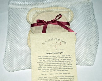 Organic Pampering Facial Cleansing Kit