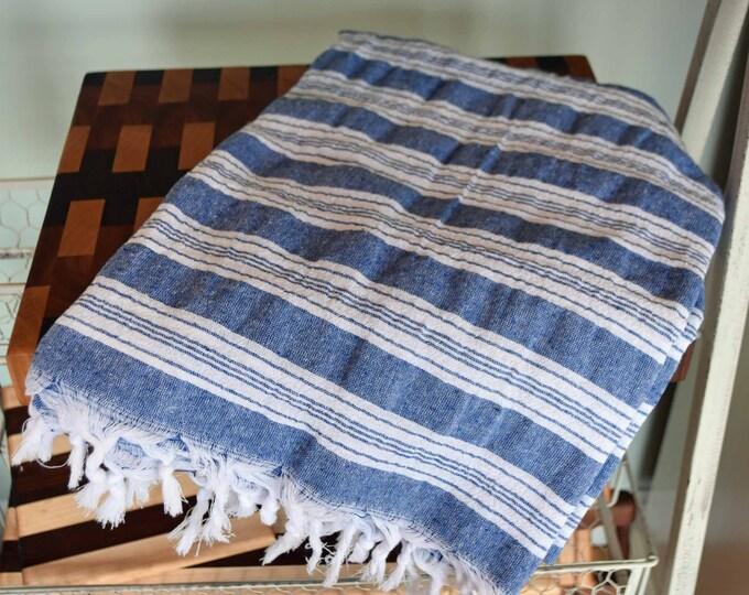 "Turkish Cotton Towel 65x37"" Beach Towel"