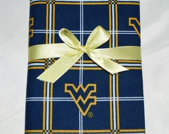 West Virginia- Cotton Flannel Receiving Blanket 42x42 Inches