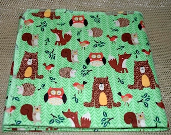 Little Critters Cotton Flannel Receiving Blanket 42x42 Inches