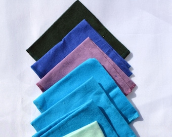 Seconds Solid boy Sets Flannel 1 Ply... 12x12 10 Pack